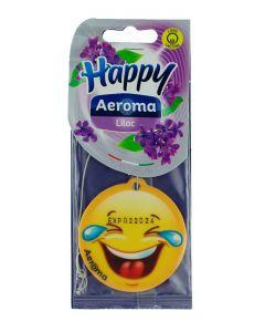 Happy Aeroma Odorizant auto 1 buc Happy Liliac