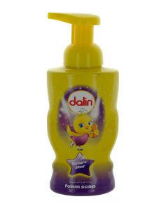Dalin Sapun spuma cu pompa 300 ml Capsuni