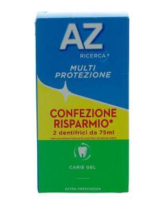 AZ Pasta de dinti 2X75 ml Caries Protection Gel