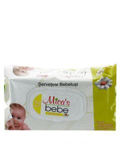 Mica's Bebe Servetele umede cu capac 108 buc Musetel