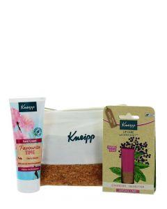 Kneipp Gentuta cosmetice:Crema de maini+Balsam de buze 75 ml+4.7 g With Love