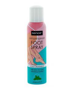 Sence Beauty Spray Deodorant pentru picioare 150 ml Peppermint Oil