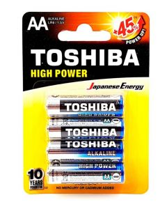 Toshiba Baterii R6 ALK High Power 4 buc