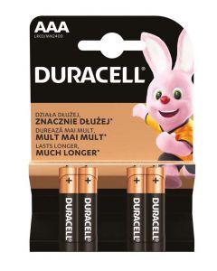 Duracell Baterii R3 4 buc Lasts Longer Alkaline