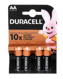 Duracell Baterii R6 4 buc Lasts Longer Alkaline