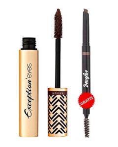 PROMO Mascara Exception'eyes 9 g 03 Brown+Creion sprancene Dual Tip 0.25 ml 02 Dark Brown GRATIS!