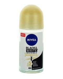 Nivea Roll-on 50 ml femei Invisible B&W Silky Smooth