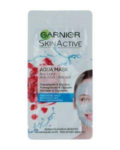 Garnier Masca de fata 8 ml Aqua Pomegranate Glycerin Dry skin
