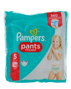 Pampers scutece chilotel nr.5  12-17 kg 28 buc Comfort Fit
