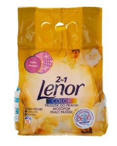 Lenor Detergent automat 1.35 kg 18 spalari 2in1 Color Gold Orchid