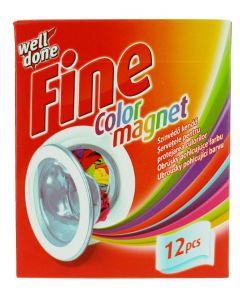 Well Done Fine Absorbant de culoare 12 buc Color Magnet