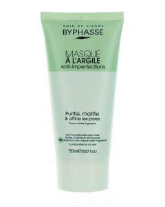 Byphasse Masca de fata cu argila 150 ml Anti-Imperfections (in tub)