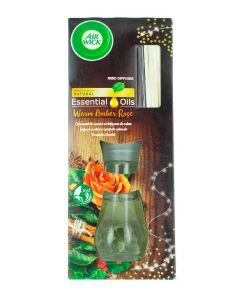 Airwick Odorizant Reed difuser 30 ml Warm Amber Rose