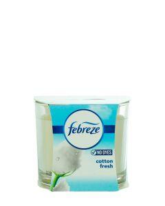 Febreze Lumanare odorizanta 100 g Cotton Fresh