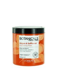 L'oreal Masca de par 200 ml Botanicals Fresh Care Argan&Safflower