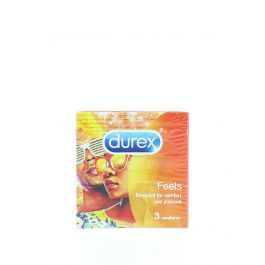 Durex Prezervative 3 buc Feels