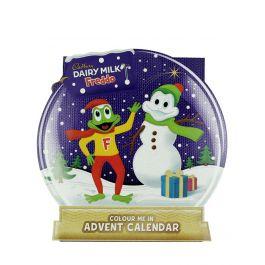 Cadbury Calendar Advent cu ciocolata 102 g Freddo Colour Me In