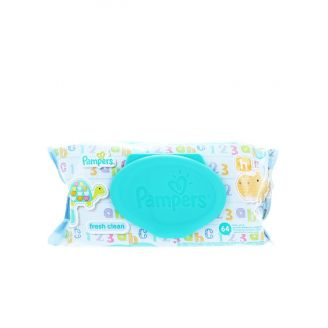 Pampers Servetele umede 64 buc Fresh Clean cu capac