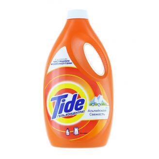 Tide Detergent lichid 2.21L 34 spalari Alpine
