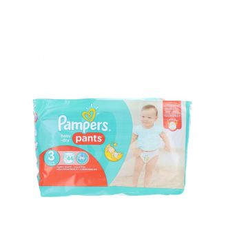 Pampers scutece chilotel nr. 3 Midi 6-11 kg 44 buc Baby-dry