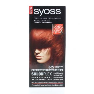 Syoss Vopsea de par Salonplex 6-27 Scarlett