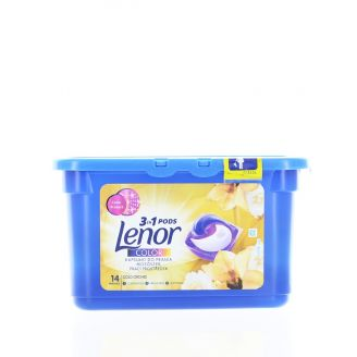 Lenor Detergent Capsule 14 Buc 3in1 Color Gold Orchid