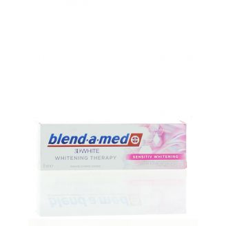 Blend-a-med Pasta de dinti 75 ml 3D White Sensitiv Whitening