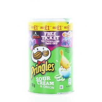 Pringles Chips 70 g Sour Cream&Onion