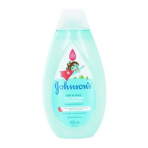 Johnson's baby Sampon&Balsam 500 ml 2 in1 Soft & Shiny