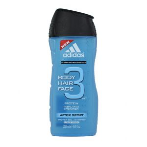 Adidas Gel de dus Barbati 250 ml After Sport 3 in 1