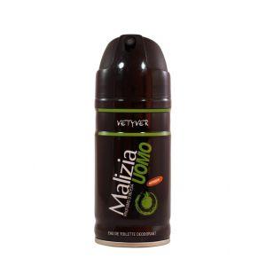 Malizia Spray deodorant barbati 150 ml Vetyver