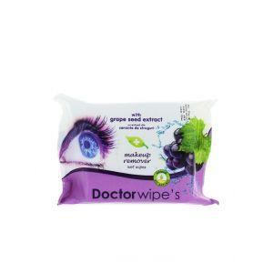 Dr. Wipe's Servetele Demachiante 20 buc Aloe/Struguri
