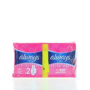 Always Absorbante Duo Pack 16 buc Super Leakage Protection