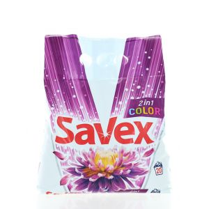 Savex Detergent automat 2 kg 20 spalari 2in1 Color