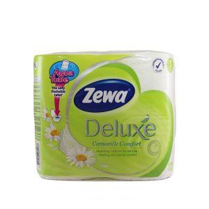 Zewa Hartie toaleta 3 straturi Deluxe 4 role Camomile