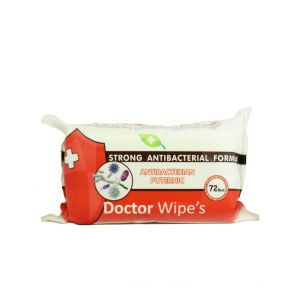 Dr. Wipe's Servetele umede antibacteriene 72 buc