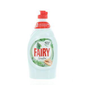 Fairy Detergent pentru vase 450 ml Tea Mint Sensitive