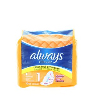 Always Absorbante 10 buc Classic Normal