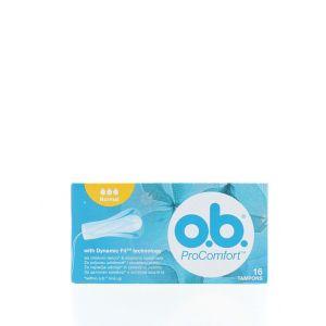 O.B. Tampoane Pro Comfort 16 buc Normal