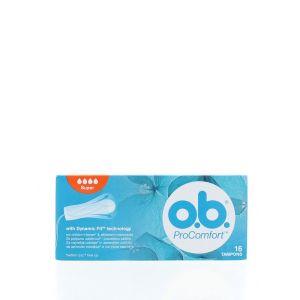O.B. Tampoane Pro Comfort 16 buc Super