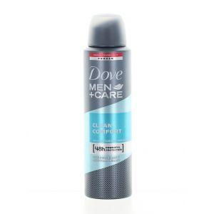Dove Men+Care Spray Deodorant 150 ml Clean Comfort