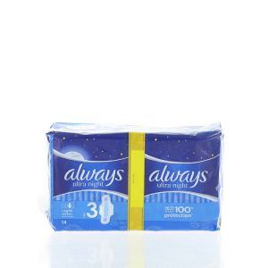 Always Absorbante Night 14 buc Leakage Protection