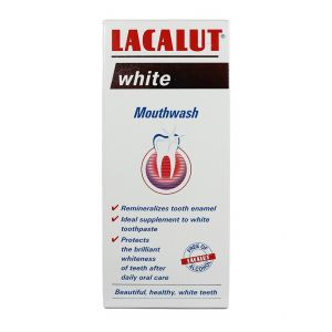 Lacalut Apa de gura 300 ml White