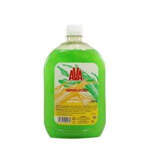 Ava Sapun lichid rezerva 900 ml Verde
