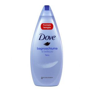 Dove Spuma de baie 700 ml Talco
