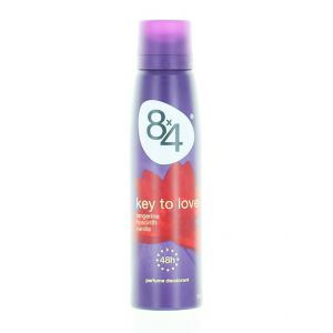 8x4 Spray deodorant 150 ml Key to love