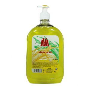 Ava Sapun lichid cu pompa 900 ml Galben