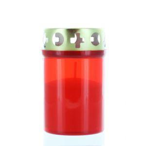 Candela rosie cu capac V1-50ET