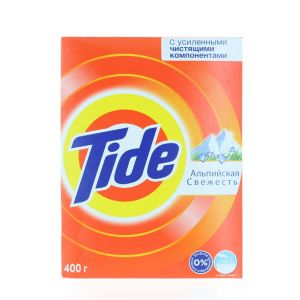 Tide Detergent manual in cutie 400 g Alpine Fresh