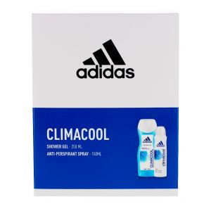 Adidas Caseta femei:Gel de dus+Spray deodorant 250+150 ml Climacool